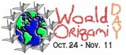 Origami világnapok: október 24 - november 11.