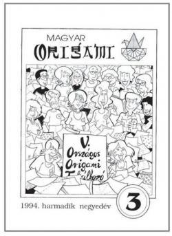 Magyar Origami Kör 1994/3 magazinja