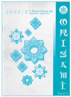 Magyar Origami Kör 2000/0 magazinja