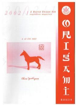 Magyar Origami Kör 2002/1 magazinja