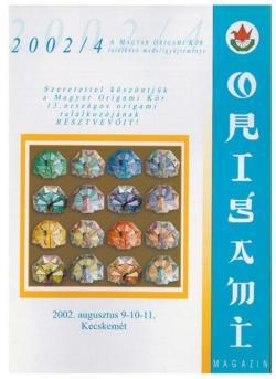 Magyar Origami Kör 2002/4 magazinja