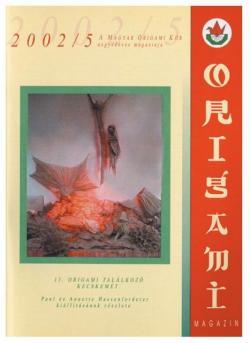 Magyar Origami Kör 2002/5 magazinja