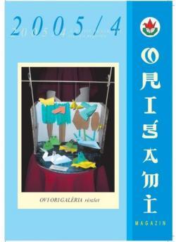 Magyar Origami Kör 2005/4 magazinja