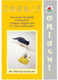 Magyar Origami Kör 2006/3 magazinja