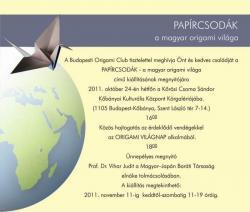 Papírcsodák - a magyar origami világa
