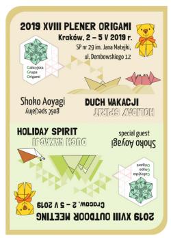 Origami Találkozó Lengyelországban 2019