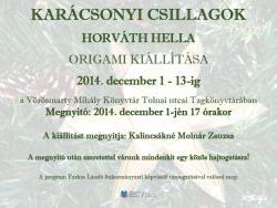 Karácsonyi Csillagok - kiállítás