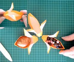 Online origami oktatás - nyuszidoboz hajtogatás