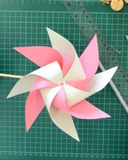 Online origami oktatás - papírforgó