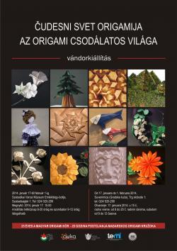 Az origami csodálatos világa vándorkiállítás Szabadkán